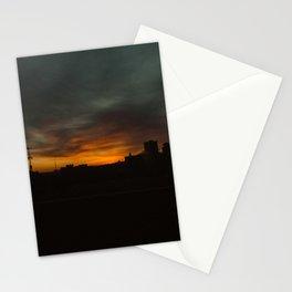 February Sunset Stationery Cards