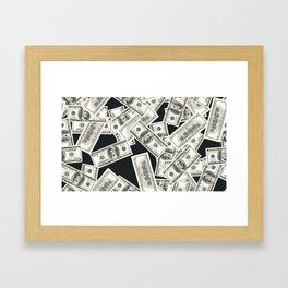 Conversational (Money) : TM17085 Framed Art Print