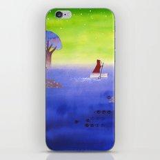 Crossing The Lake iPhone & iPod Skin