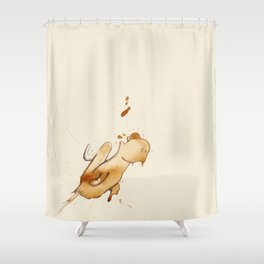 #coffeemonsters 500 Shower Curtain