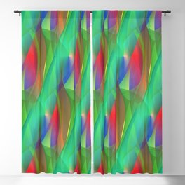 time for crazy patterns -105- Blackout Curtain
