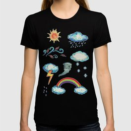 Blame It On The Weather-man T-shirt