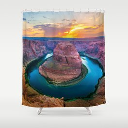 River's Bend Shower Curtain