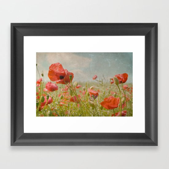 memories of summer I Framed Art Print