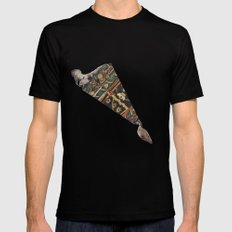 Transference  MEDIUM Black Mens Fitted Tee