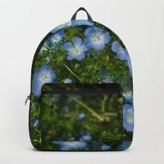 Baby Blue Eyes Backpack