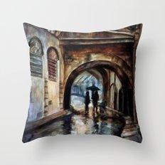 Alleywalkers Throw Pillow
