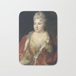 Nicolas de Largillire - Marie Anne Mancini, duchesse of Bouillon Bath Mat