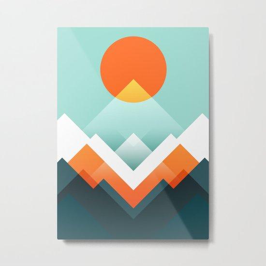 Everest Metal Print