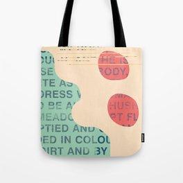 lie cold Tote Bag