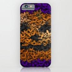 Halloween bats and pumpkin iPhone 6s Slim Case