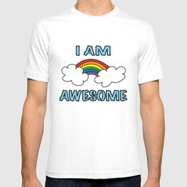I Am Awesome Rainbow LGBT T-shirt