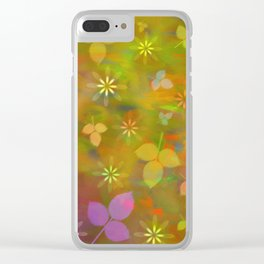 Spring flowers 02 Clear iPhone Case