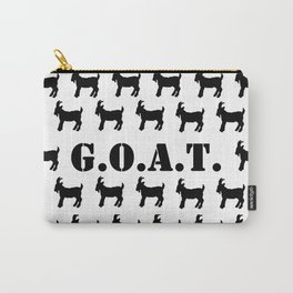 The GOAT Print Carry-All Pouch