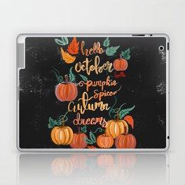 Hello October Laptop & iPad Skin