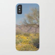 Joshua Tree Wildflowers Slim Case iPhone X