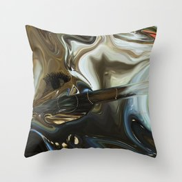 Imagine what is in your mind Throw Pillow