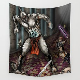 The Iron Golem Wall Tapestry