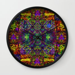 The symmetry of being Wall Clock