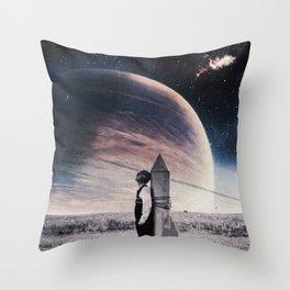 Take off ... Throw Pillow
