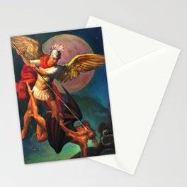 Saint Michael the Warrior Archangel Stationery Cards