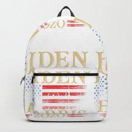 BIDEN HARRIS 2020 - White Backpack