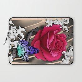 Rose Tattoo Laptop Sleeve