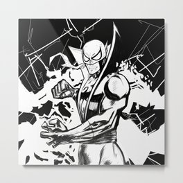 Iron Fist Metal Print