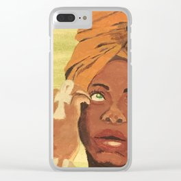 Baduizm Clear iPhone Case