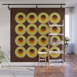 Abstract 70's: Holes 8 Wall Mural