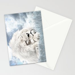 Barbary Lion Stationery Cards