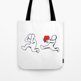 Take my love, hatetolove Tote Bag