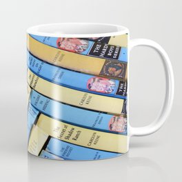 Nancy Drew & Hardy Boy Book Weave Coffee Mug