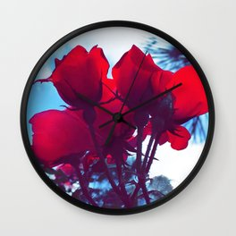 Rookie Roses Wall Clock