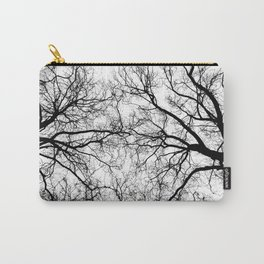 Tree Branch Silhouette Carry-All Pouch