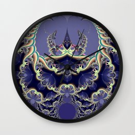 Fractal Abstract 42 Wall Clock