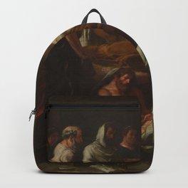 Eugne Delacroix - Last Words of the Emperor Marcus Aurelius Backpack