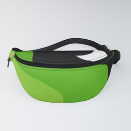 Greenfield Night Abstract  Fanny Pack