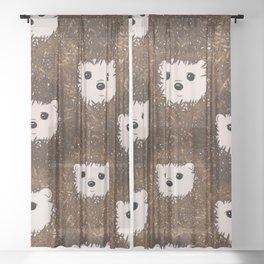 Spike Sheer Curtain