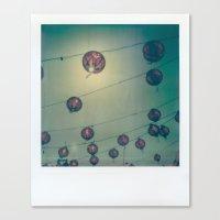 lanterns Canvas Prints featuring Lanterns by Leandro