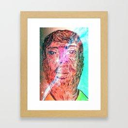 I'm at space Framed Art Print