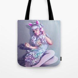 Pastel Kitten Tote Bag