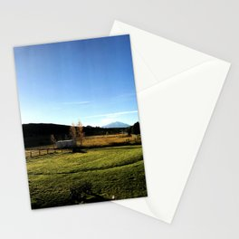 Sunrise with Mount Sopris - Glenwood Springs, CO Stationery Cards