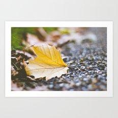 Autumn piece Art Print