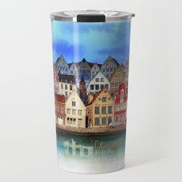 House, Bruges, Belgium Travel Mug