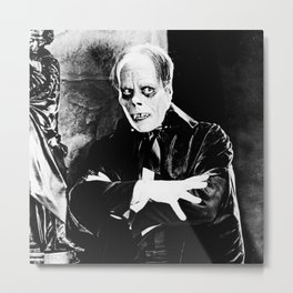 Lon Chaney || classic horror movie Metal Print