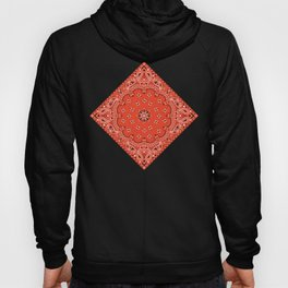 red bandana Hoody