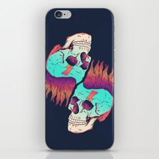 Skull Redux iPhone Skin