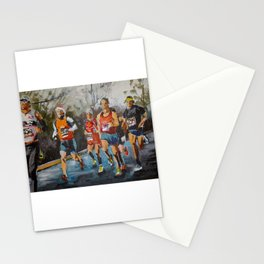 Runners. Stationery Cards