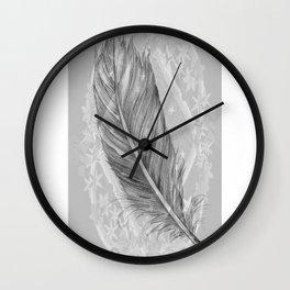 purity, peace & stars Wall Clock